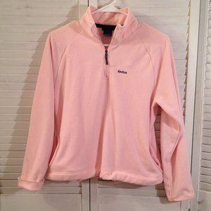 Reebok Girls S Pink Fleece Pullover Sweatshirt